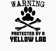 Protected By A Yellow Lab Unisex T-Shirt