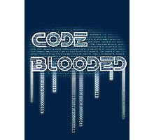 Code Bleed Photographic Print