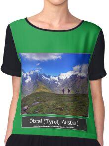 Summer trip to Tyrol, Austria Chiffon Top
