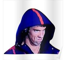 Phelps Face Poster