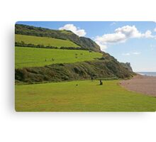 Branscombe Mouth Canvas Print