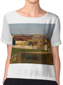 Old Boat Factory Chiffon Top