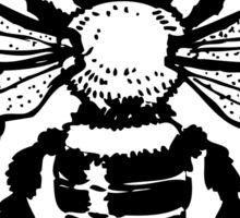Insect honey bee art Sticker