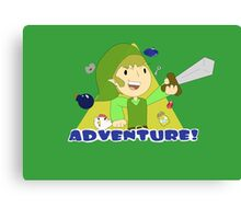 Adventure Link  Canvas Print