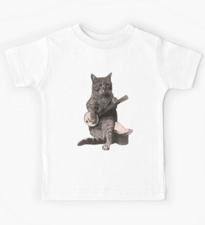 Banjo Cat Kids Tee