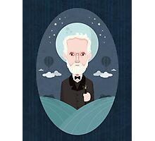 Jules Verne Photographic Print