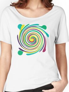 Swirl Women's Relaxed Fit T-Shirt