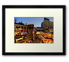 THE EPICENTRE Framed Print