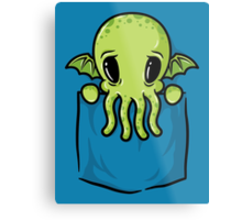 Pocket Cthulhu Metal Print