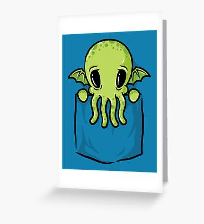 Pocket Cthulhu Greeting Card