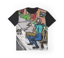 The Dog Walker Graphic T-Shirt