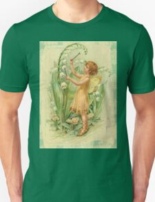 Fairy,flowers,angel,rustic,grunge,collage,wings,romantic T-Shirt