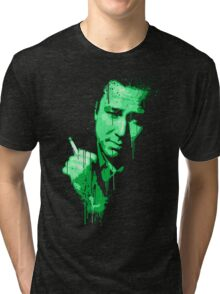 Bill Hicks (green) Tri-blend T-Shirt