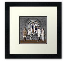 1920s Athletes Framed Print