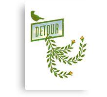 Detour Summer Journey Canvas Print