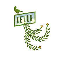 Detour Summer Journey Photographic Print