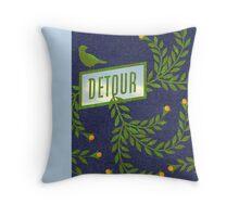 Detour Summer Journey Throw Pillow