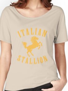 ITALIAN STALLION Women's Relaxed Fit T-Shirt