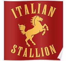 ITALIAN STALLION Poster