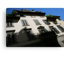 Rooftop Gardens, Florence Canvas Print