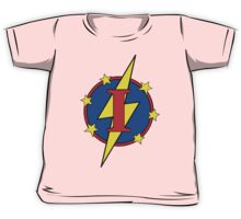 My Cute Little Super Hero - Letter I Kids Tee