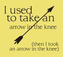 Arrow in the knee - 1 Kids Tee
