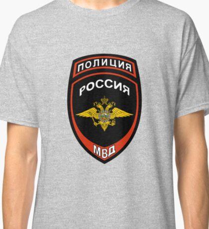 Russian Police Insignia Classic T-Shirt