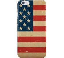 US Flag VINTAGE iPhone Case/Skin
