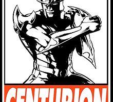 Nova Centurion Obey Design by SquallAndSeifer