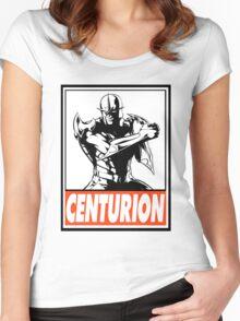 Nova Centurion Obey Design Women's Fitted Scoop T-Shirt