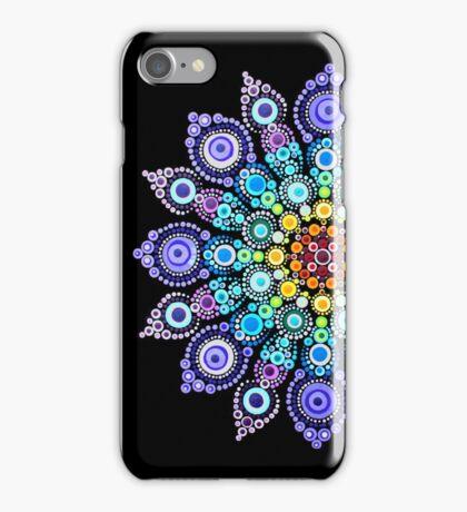 Rainbow Love Mandala iPhone Case/Skin