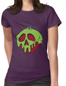 Poisoned Apple Womens Fitted T-Shirt