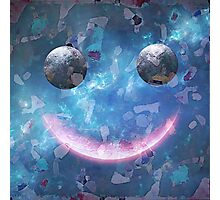 Smiley Face With Confetti. VividScene Photographic Print