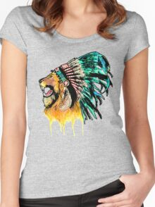 Lion Warrior Women's Fitted Scoop T-Shirt