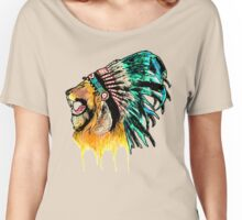 Lion Warrior Women's Relaxed Fit T-Shirt