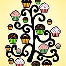 Cupcake Tree by Anastasiya Malakhova