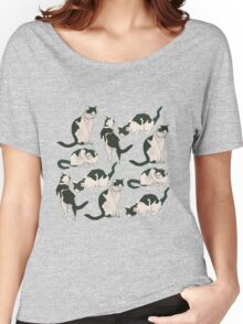 Crazy About Cats Women's Relaxed Fit T-Shirt