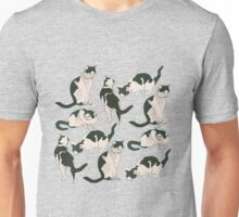 Crazy About Cats Unisex T-Shirt
