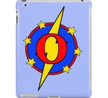 My Cute Little Super Hero - Letter O iPad Case/Skin