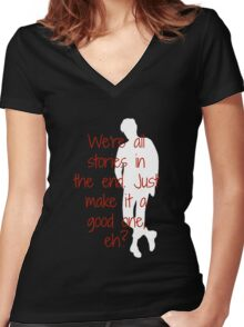 11th Women's Fitted V-Neck T-Shirt