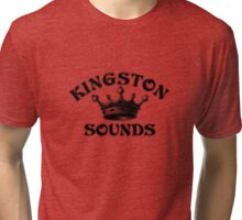 Kingston records Tri-blend T-Shirt