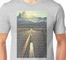 twenty one pilots Taxi Cab Lyric Art Collage Unisex T-Shirt