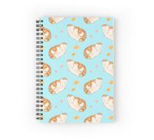 Blorp Blue Spiral Notebook