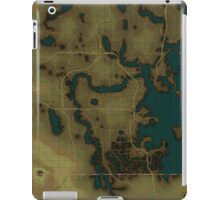 Fallout 4 Blank Map iPad Case/Skin