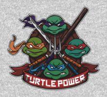Turtle Power! Kids Clothes