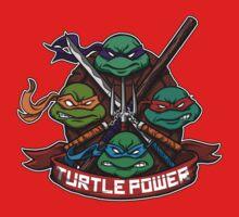 Turtle Power! One Piece - Long Sleeve