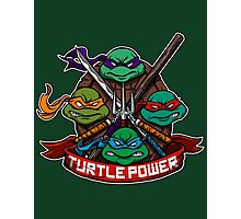 Turtle Power! Photographic Print