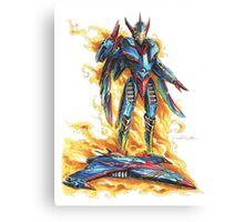 God Phoenix... Transform! Canvas Print