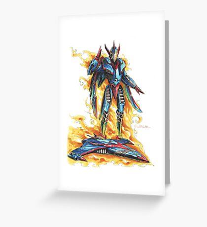 God Phoenix... Transform! Greeting Card