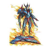 God Phoenix... Transform! Photographic Print